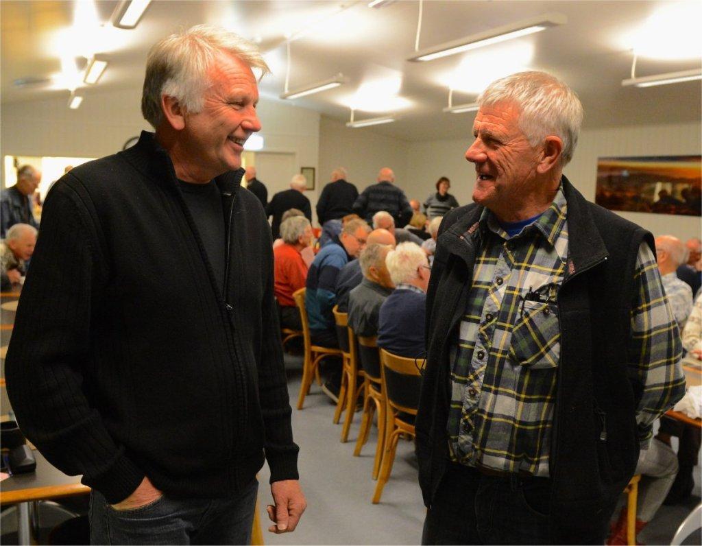 Oddbjørn Mæhre og Melvin Mølnås