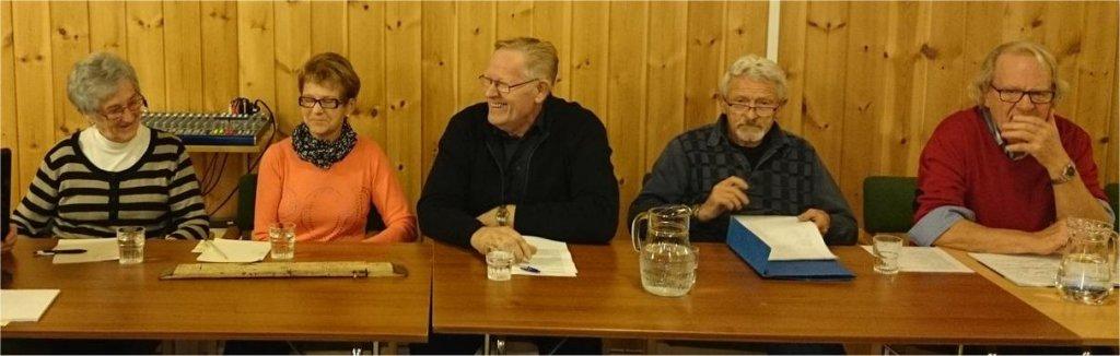 Panelet Ragnhild Winge, Åse Rømo, Magnus Fiskvik, Jostein Skatvold og Asbjørn Skjervold